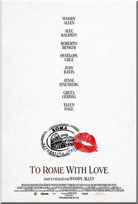 To Rome With Love, de Woody Allen Affiche-To-Rome-with-love